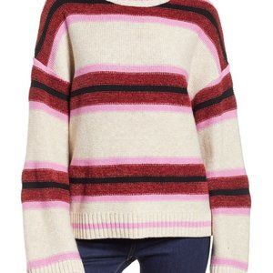 BP Nordstrom Robyn Striped Sweater Knit NWT New